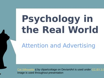 'Attention and Advertising Tactics' Psychology Resource