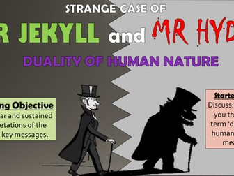 Dr Jekyll and Mr Hyde: Duality of Human Nature!