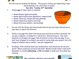 The Romans Project!