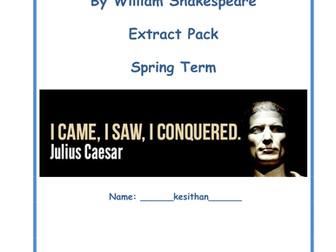 Julius caesar rescource pack