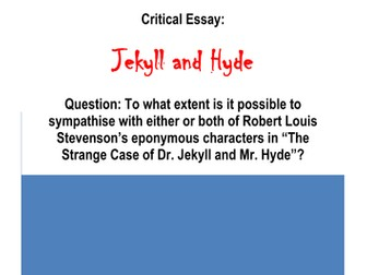 X A Grade Gcse English Literature Essays By Biggles  A Grade Gcse English Literature Essay Jekyll And Hyde