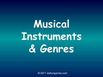 Musical Instruments PowerPoint Slideshow