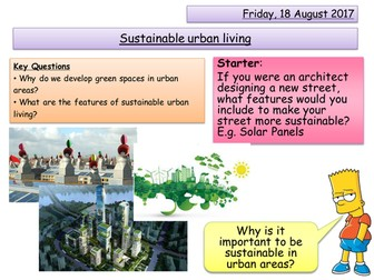 Sustainable Urban Living