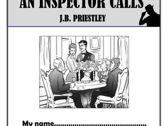 An Inspector Calls Comprehension Activities Booklet!