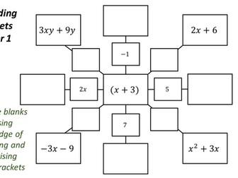 Maths Spiders - Algebra and Geometry Bundle