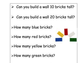 4 Free Choice Numeracy task instructions.