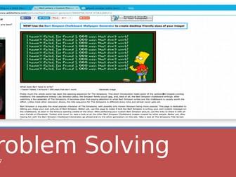 Maths Problem Solving Transition Unit