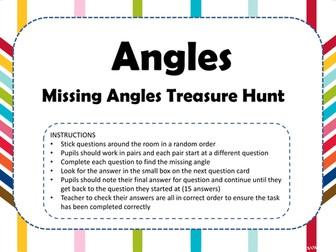 Missing Angles Treasure Hunt