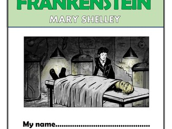 Frankenstein Comprehension Activities Booklet!