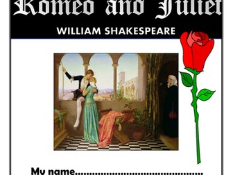Romeo and Juliet Comprehension Activities Booklet!