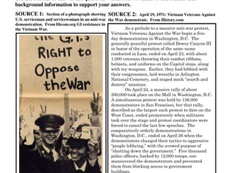 How did U.S. soldiers and veterans oppose the Vietnam War?