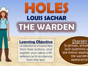 Holes - The Warden!