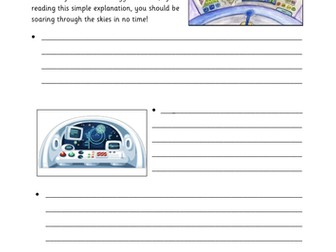 Explanation Text Template - Operating a UFO