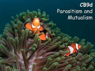 Edexcel CB9d Parasitism and Mutualism