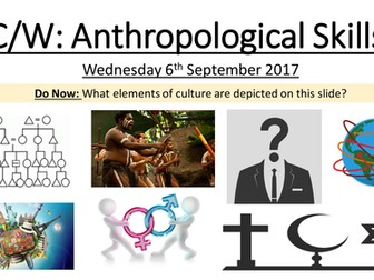 Social Anthropology Engaging Lesson/Introduction
