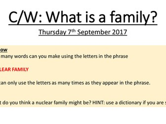 The Family - WJEC