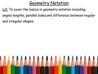 Geometry Notation
