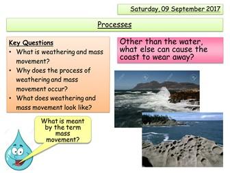 Weathering and Mass Movement