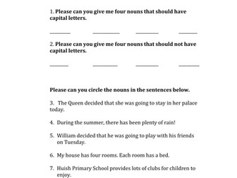 Maths homework for place value