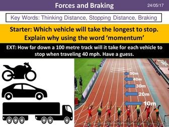 Forces and Braking