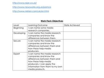 GCSE Media Theoretical Frameworks: Audiences - Research Methods
