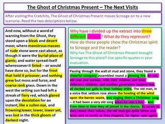 A Christmas Carol - Ghosts