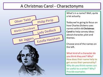 A Christmas Carol - Writing to Argue