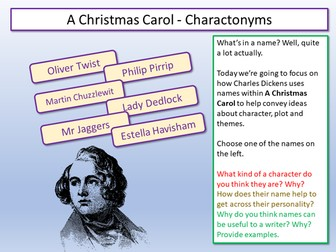 A Christmas Carol by Lead_Practitioner - Teaching Resources - Tes