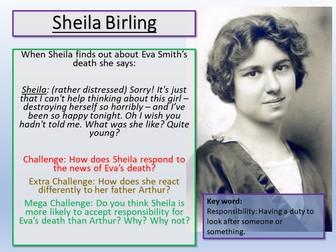 An Inspector Calls - Sheila Birling