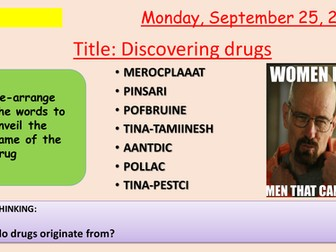 AQA new specification-Discovering drugs-B6.3