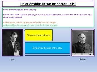 An Inspector Calls - Relationships