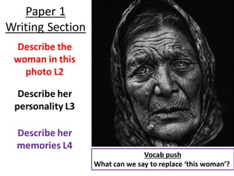 AQA Paper 1 Creative Writing Lesson Q5