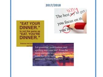 SPaG Resource Pack: English Language Skills