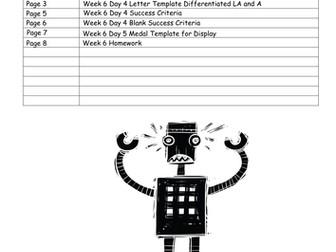 The Iron Man LKS2 Scheme of Work - WEEK 6: PERSUASIVE LETTERS