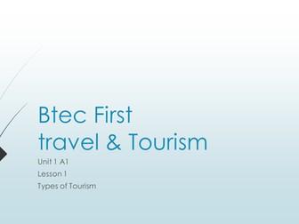 Btec First Travel & Tourism