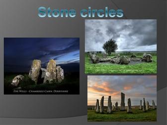 Stonehenge Silhouette Art- Year 3