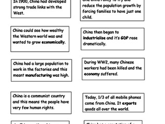 The Economy of China- 'Why is everything made in China?'
