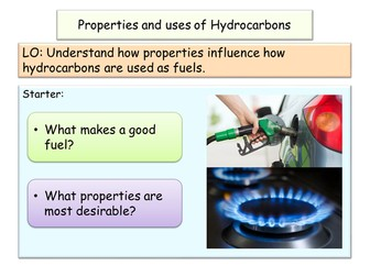 NEW AQA GCSE Chemistry Properties and Uses of Hydrocarbons