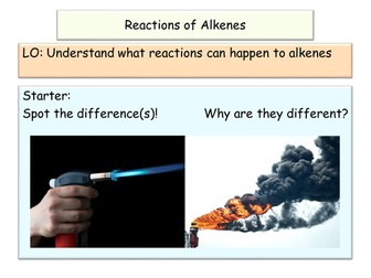 NEW AQA GCSE Chemistry Alkene Reactions