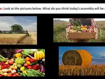 Harvest Assembly and Poem