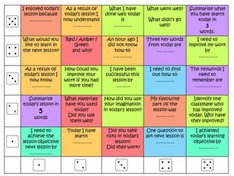 Plenary dice challenge