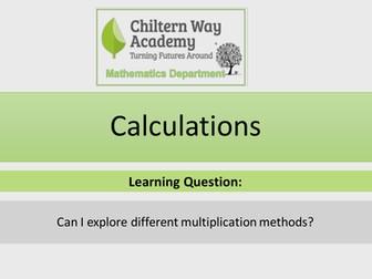 Different Multiplication Methods