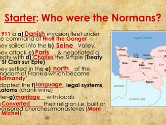 Norman Conquest revision