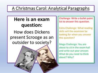 A Christmas Carol Essay Writing