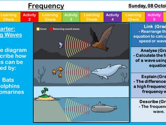 AQA Light and Sound - Frequency