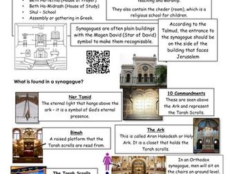 Judaism, new GCSE revision  EDUQAS