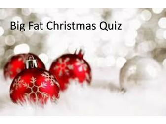 Big Fat Christmas Quiz