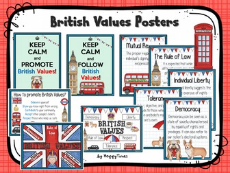 British Values Display Posters