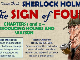 The Sign of Four - Holmes and Watson