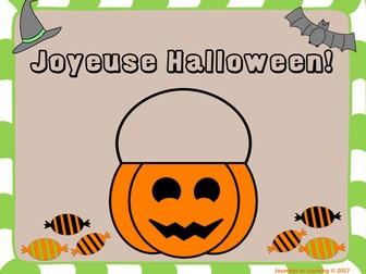 Joyeuse Halloween!